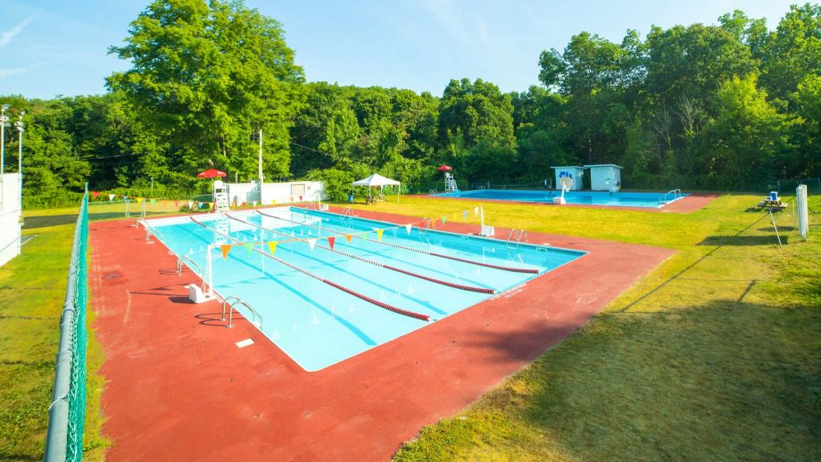 Camp Schodack heated outdoor swimming pool
