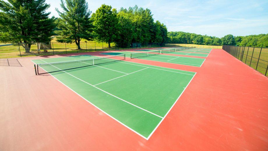Camp Schodack tennis courts